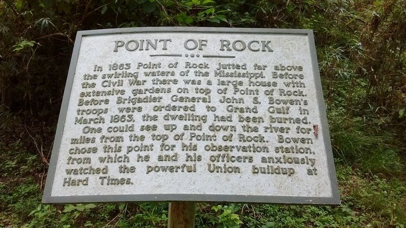 Point of Rock Marker image. Click for full size.