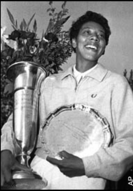Althea Gibson World Tennis Champion image. Click for full size.