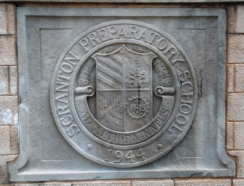 Scranton Preparatory School Seal image. Click for full size.