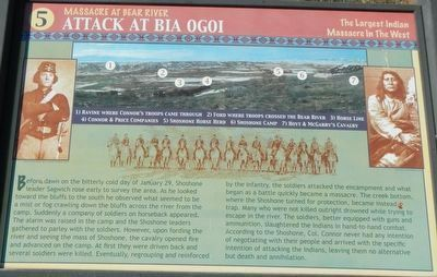 Attack at Bia Ogoi Marker image. Click for full size.