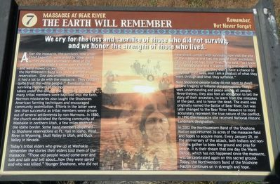 The Earth Will Remember Marker image. Click for full size.