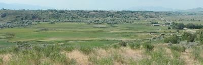 The Bear River Valley where the Massacre took place image. Click for full size.