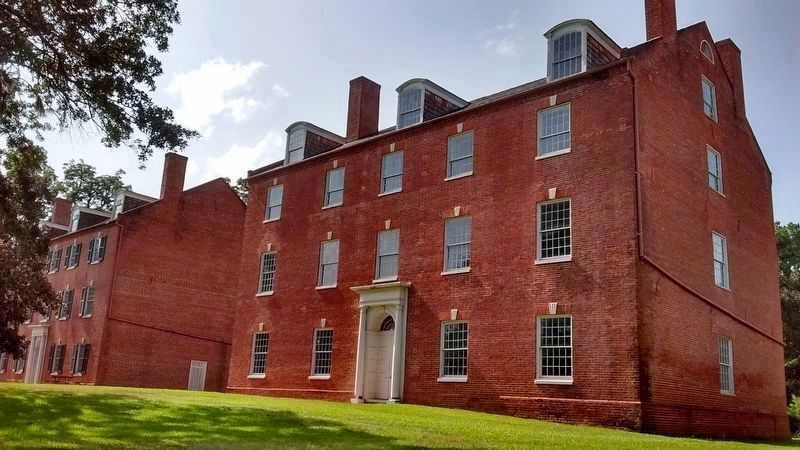Jefferson Military College - East Wing (1819) image. Click for full size.