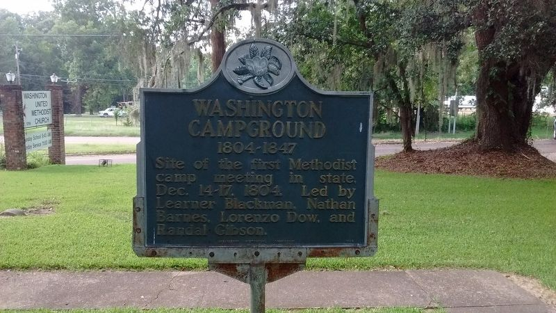 Washington Campground Marker image. Click for full size.