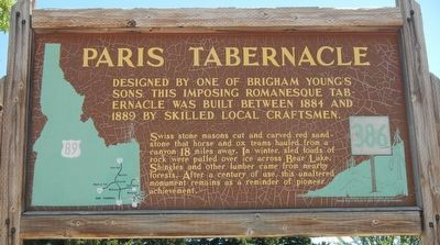 Paris Tabernacle Marker image. Click for full size.