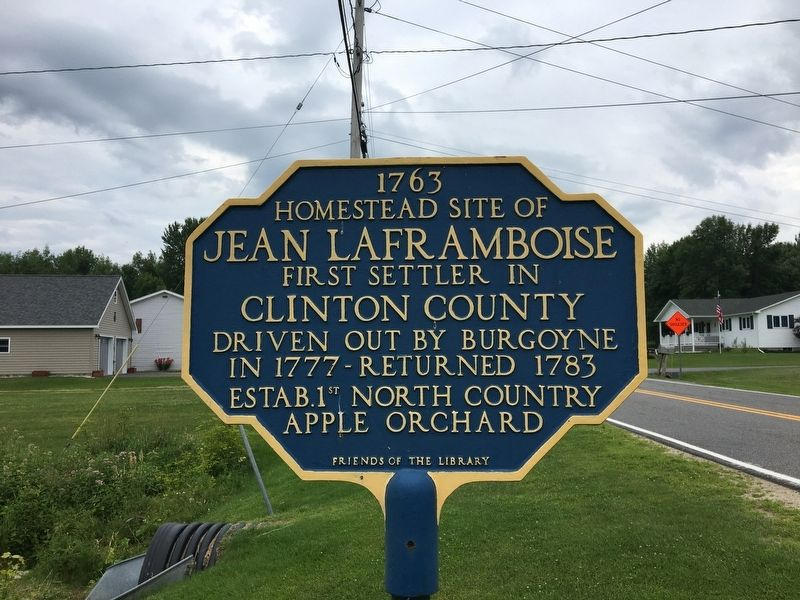 Homestead Site of Jean LaFramboise Marker image. Click for full size.