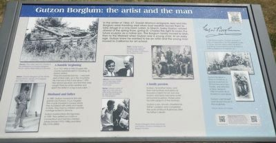 Gutzon Borglum: the artist and the man Marker image. Click for full size.