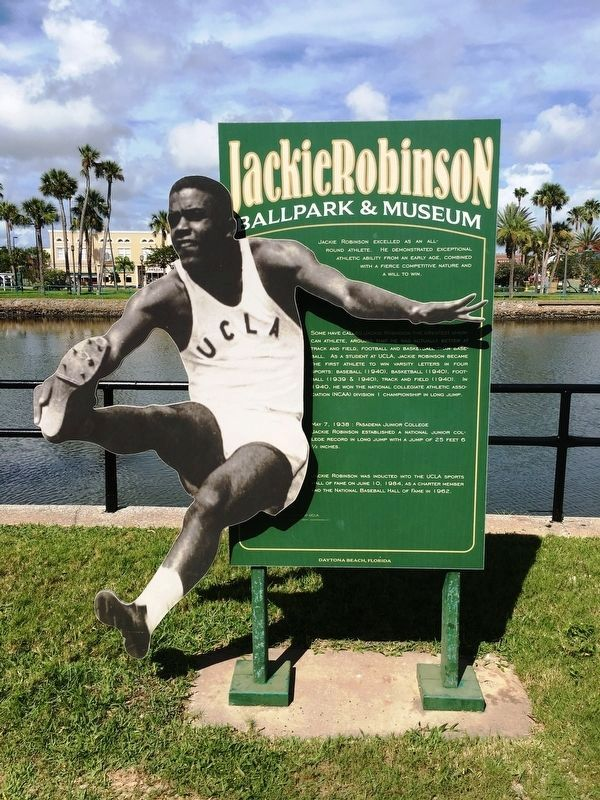 Jackie Robinson A Gifted Athlete image. Click for full size.