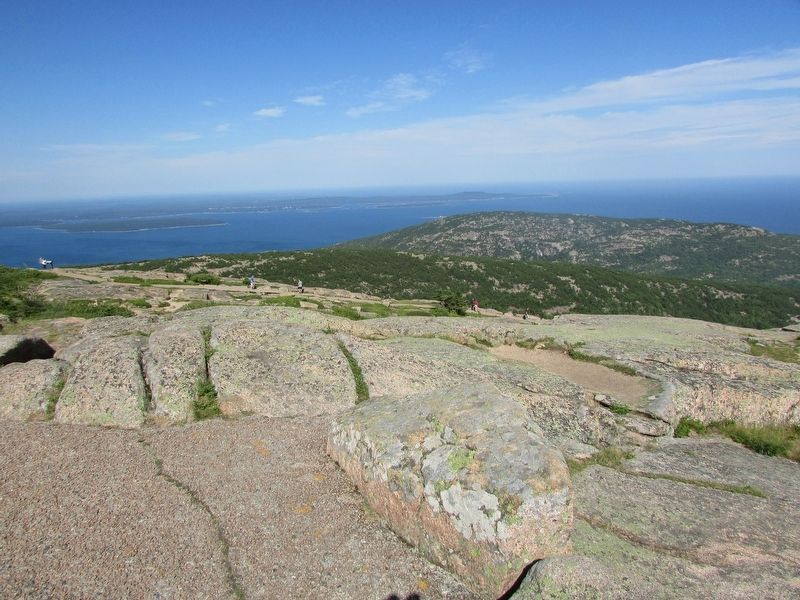 Cadillac Mountain Granite image. Click for full size.