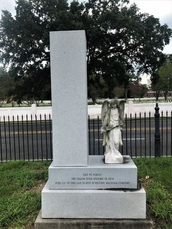Yellow Fever Memorial Marker image. Click for full size.