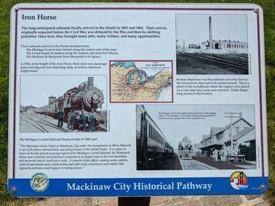 Iron Horse Marker image. Click for full size.