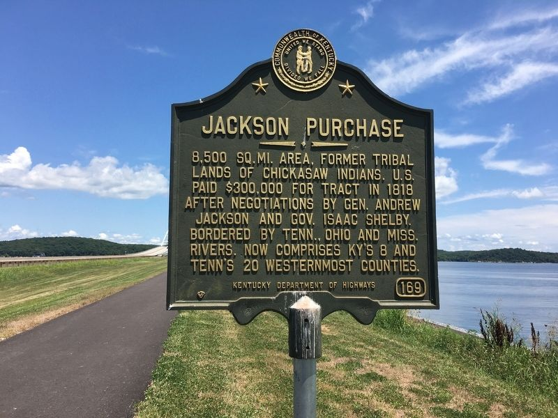 Jackson Purchase Marker image. Click for full size.