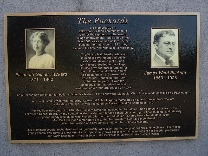 The Packards Memorial image. Click for full size.