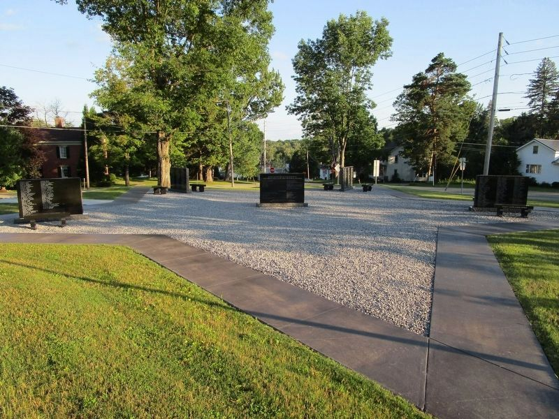 North Harmony Veterans Memorial image. Click for full size.
