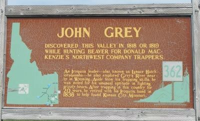 John Grey Marker image. Click for full size.