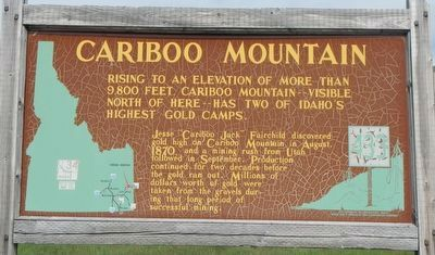 Cariboo Mountain Marker image. Click for full size.