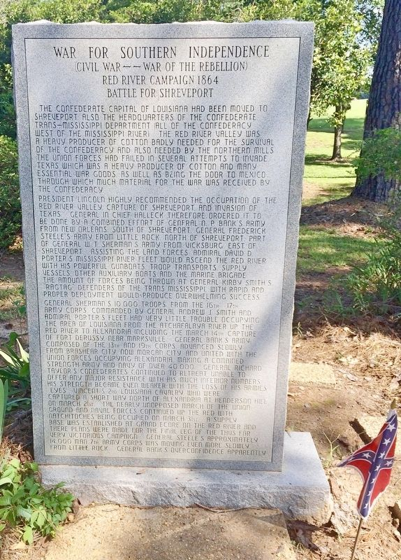 War for Southern Independence Monument (Front) image. Click for full size.