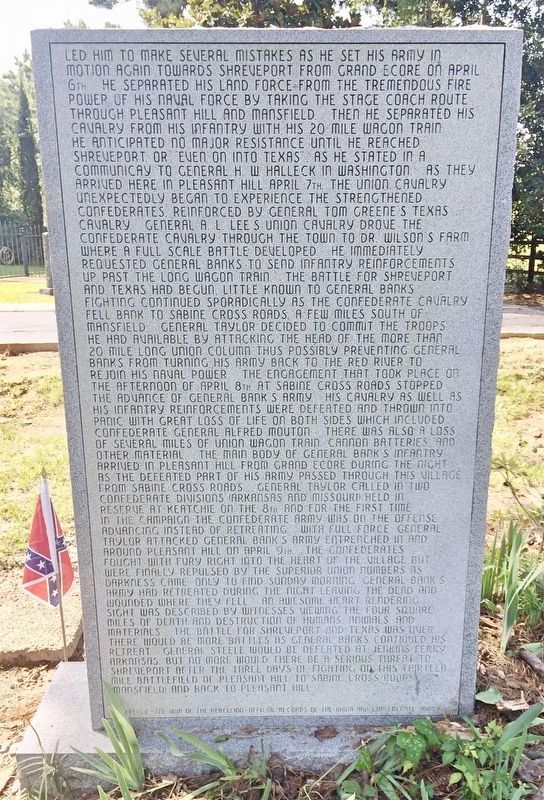War for Southern Independence Monument (Rear) image. Click for full size.