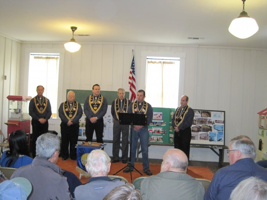The Greenwood School House Marker Dedication Ceremony
