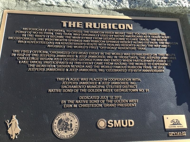 The Rubicon Marker image. Click for full size.