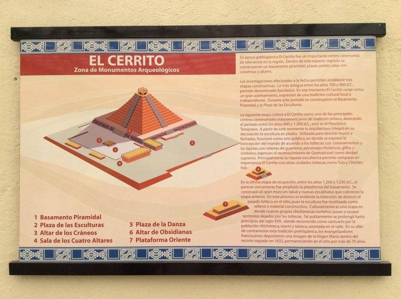 "El Cerrito (""The Little Hill"") Marker image. Click for full size."