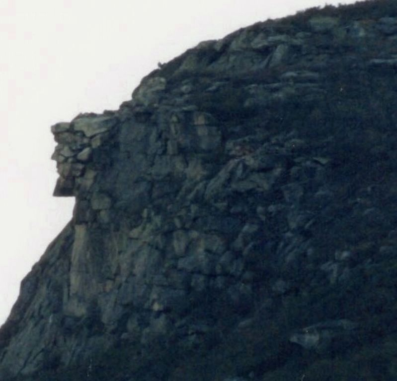 The Old Man of the Mountain, 1997 image. Click for full size.