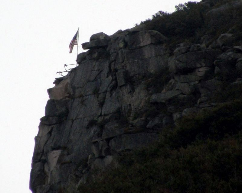 The Old Man of the Mountain, 2008 image. Click for full size.