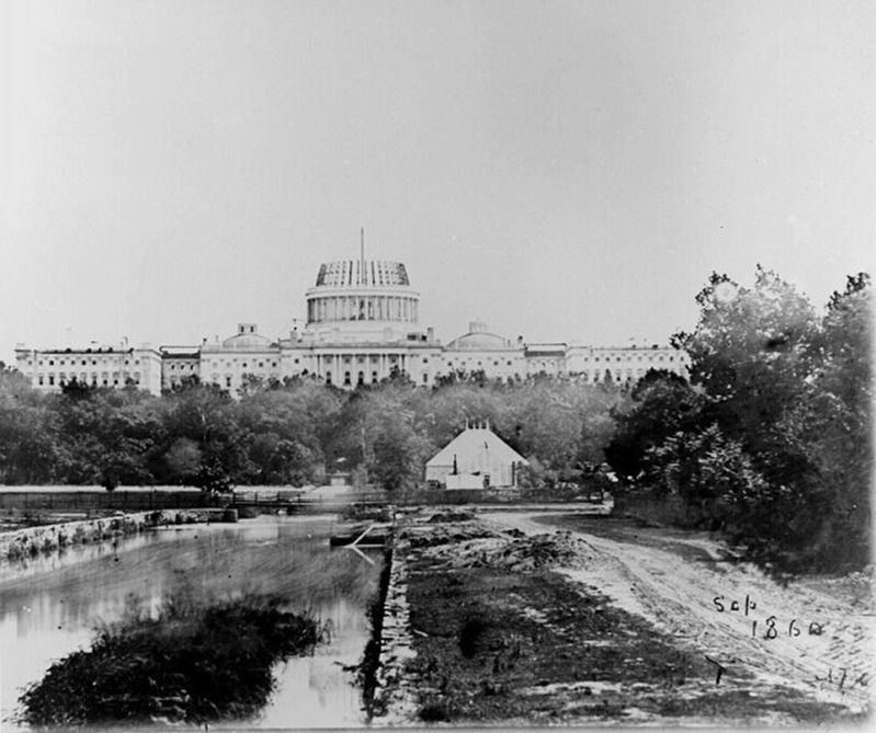 Washington City Canal - 1860 image. Click for full size.