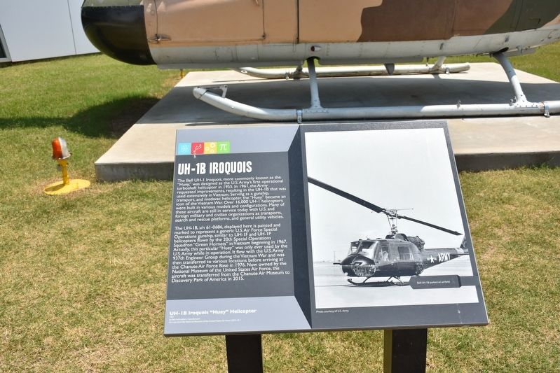 UH-1B Iroquois Marker image. Click for full size.