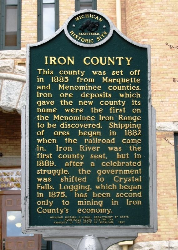 Iron County Marker image. Click for full size.