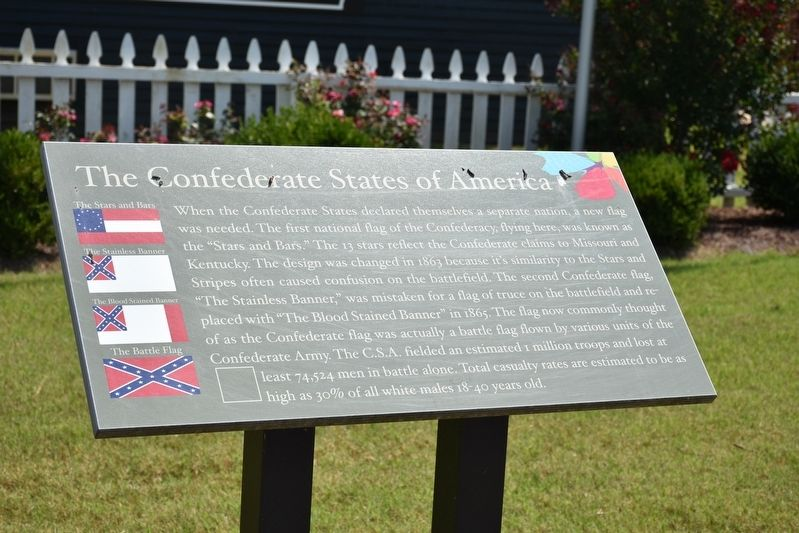 The Confederate States of America Marker image. Click for full size.