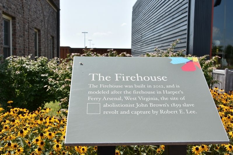 The Firehouse Marker image. Click for full size.