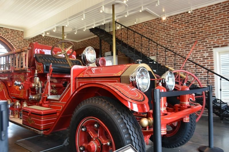 The Firehouse Fire Truck image. Click for full size.