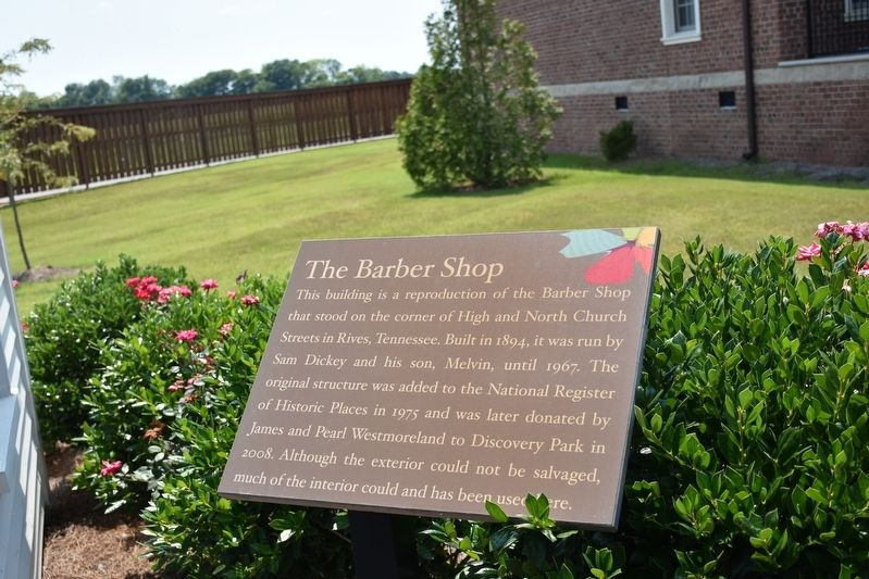 The Barber Shop Marker image. Click for full size.