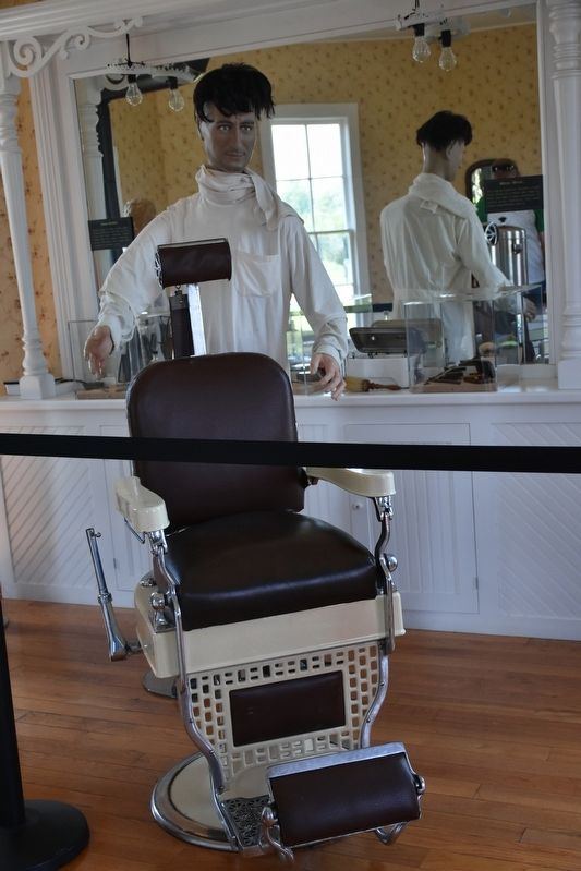 The Barber Shop Barber's Chair image. Click for full size.