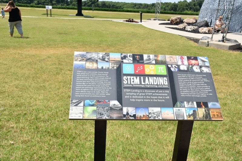 Stem Landing Science, Technology, Engineering, and Math Marker image. Click for full size.