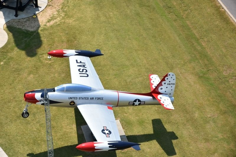 YP-84A Thunderjet Marker image. Click for full size.