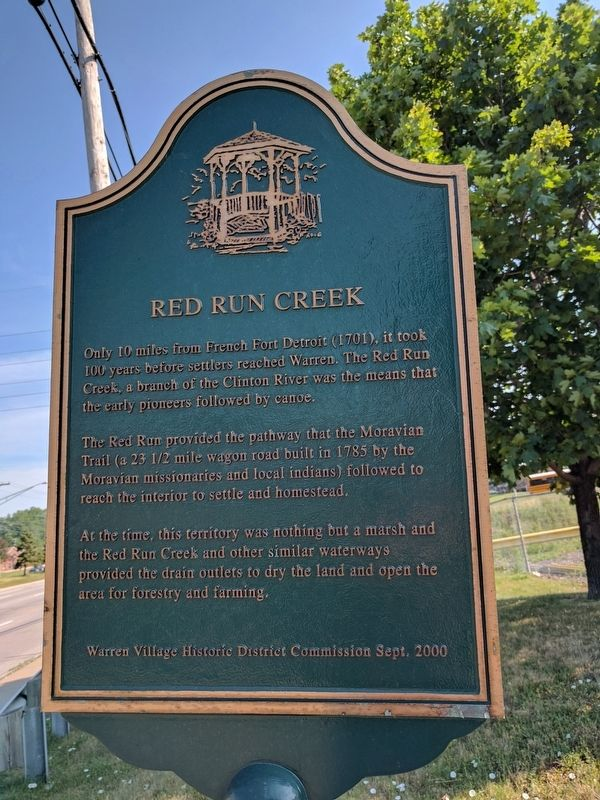 Red Run Creek Marker image. Click for full size.