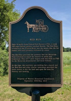 Red Run Marker image. Click for full size.