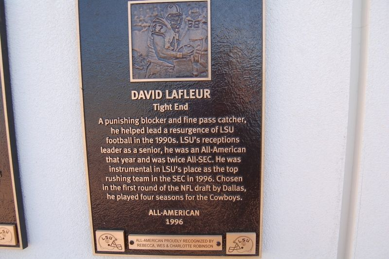 David LaFleur Marker image. Click for full size.