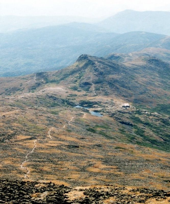 The Appalachian Trail over Mt. Washington image. Click for full size.