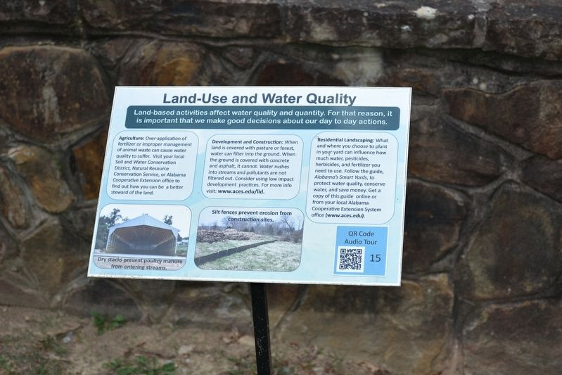 Land-Use and Water Quality Marker image. Click for full size.
