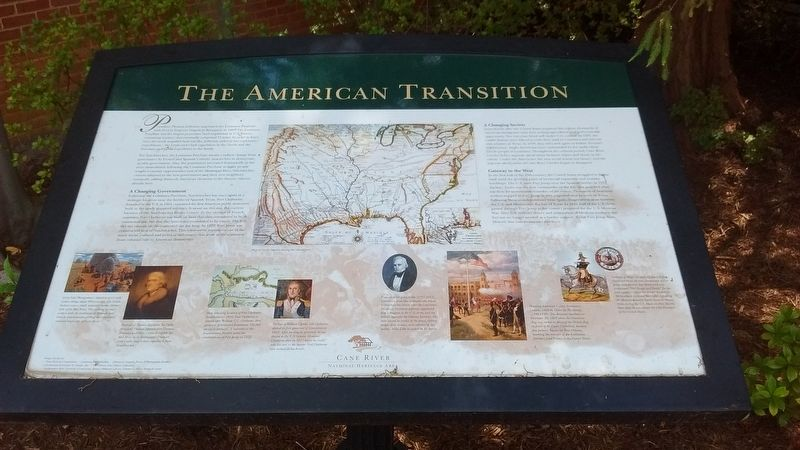 The American Transition Marker image. Click for full size.