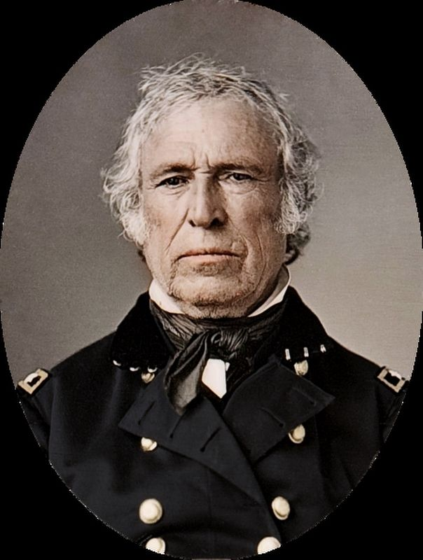 Zachary Taylor image. Click for full size.