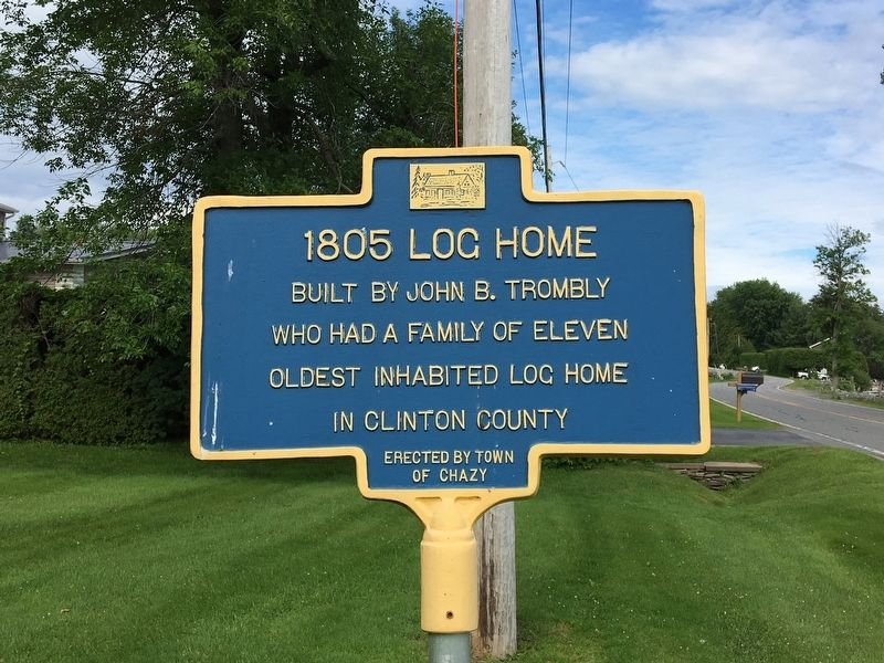1805 Log Home Marker image. Click for full size.