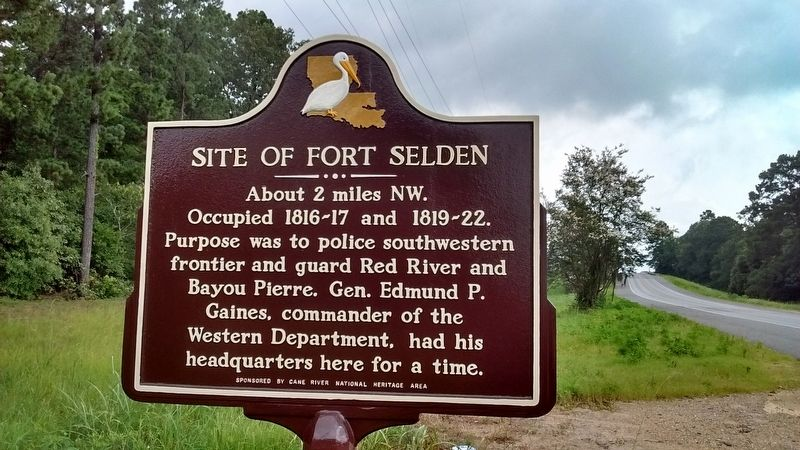 Site of Fort Selden Marker image. Click for full size.