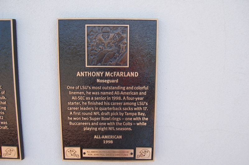Anthony McFarland Marker image. Click for full size.