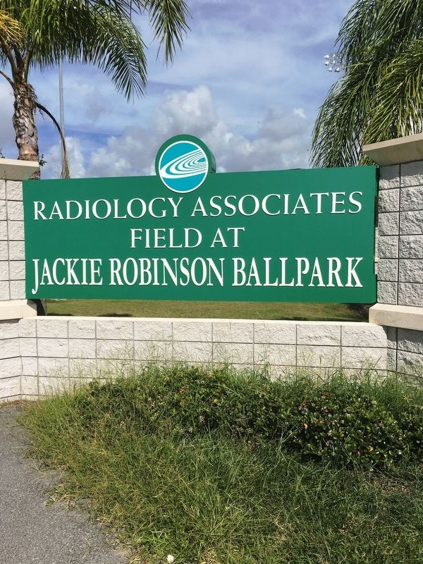 Radiology Associates Field At Jackie Robinson Ballpark image. Click for full size.