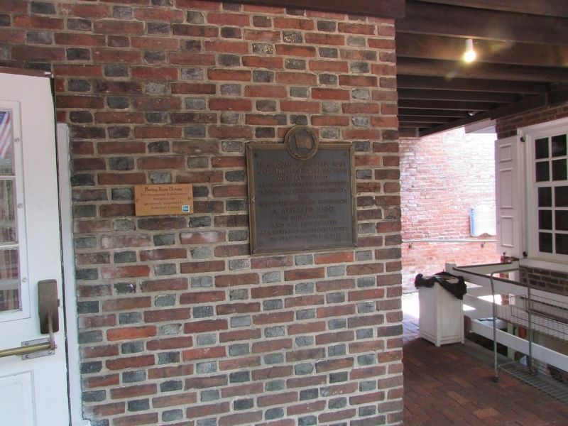 Betsy Ross House Marker image. Click for full size.
