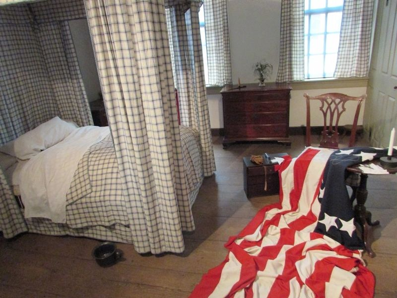 Betsy Ross' Bedroom image. Click for full size.
